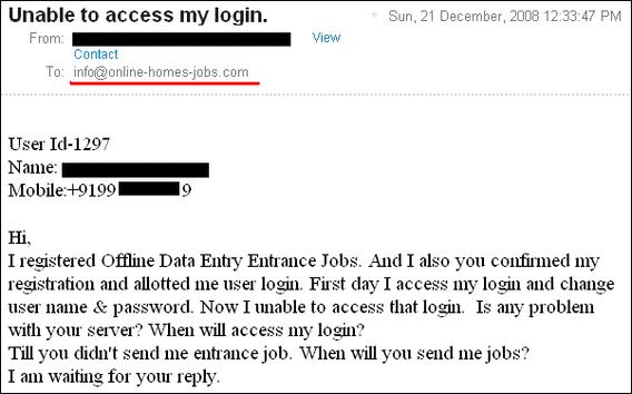 Scam Website Alert | Online-Home-Jobs com Review ! » JobsTron com